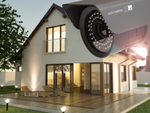 Security Camera And Home In Th...