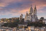 Fototapeta Fototapety Paryż - La Basilique du Sacré Cœur de Montmartre