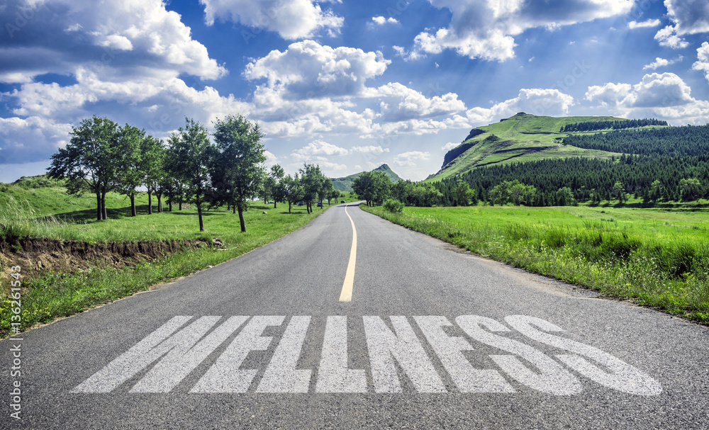 Fototapety, obrazy: road of wellness