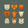 icons animal Vector
