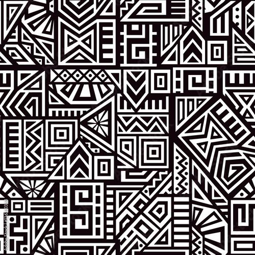 Aztec Vector Seamless Pattern Wall mural