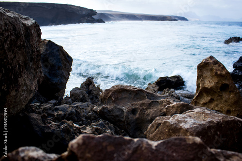 Tuinposter Canarische Eilanden fuerteventura. canary islands