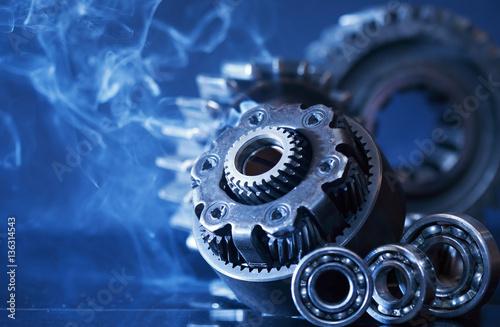 Plakaty Gears In Smoke