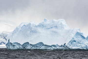 Panel Szklany Skandynawski Antarctic Glacial Icebergs