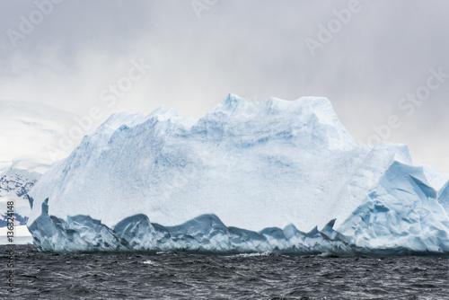 Antarctic Glacial Icebergs - 136324148