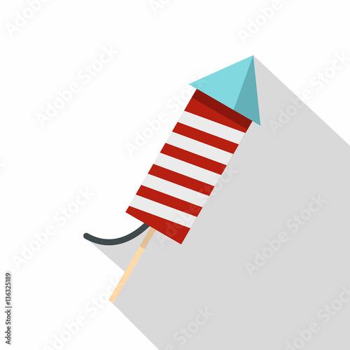Petard icon , flat style Fototapeta