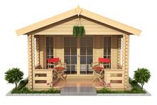 Garden Wooden Cabin (garden Ho...