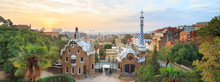 Park Guell In Barcelona. View ...