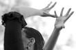 canvas print picture - Manos bailando flamenco