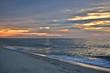 Scenic Summer Sunrise on the Beach