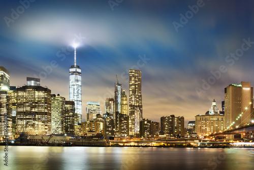 Foto op Aluminium New York New York City lights