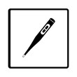 thermometer medical device icon vector illustration design