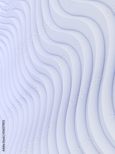 Naklejka na szybę Wave band abstract background surface 3d rendering