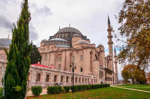 Photo  Suleymaniye mosque in Istanbul, Turkey