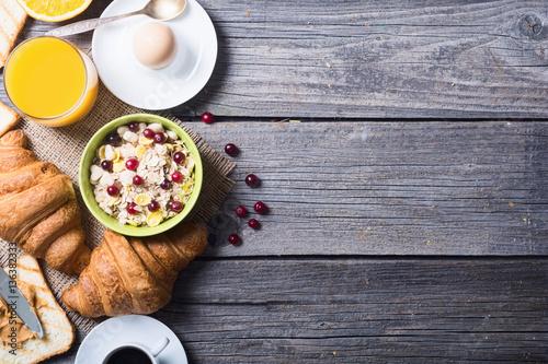 Fotografie, Obraz  Breakfast with eggs