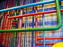 Pipes In Bright Strong Colors