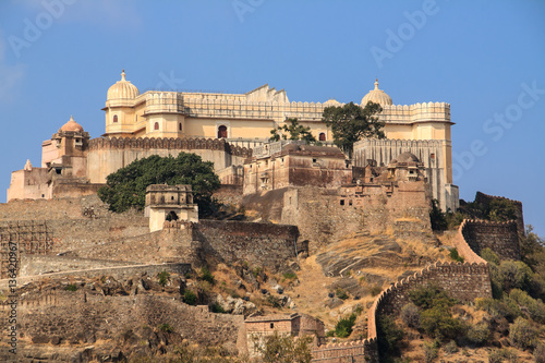 Poster Monument Panoramic view of Fort Kumbhalgarh, India