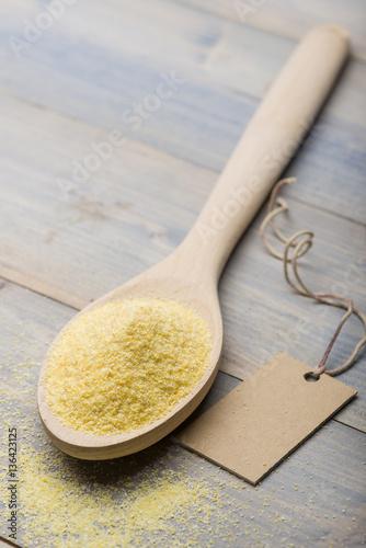 Recess Fitting Baobab yellow flour