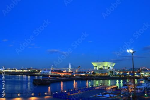 Photo sur Toile Europe Centrale 横浜夜景
