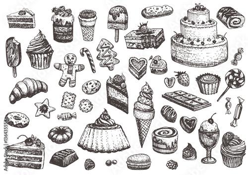 ilustracja-ciast-ciast-ciastek-lodow