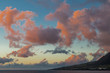 Orange Clouds Over St Kitts Sunset