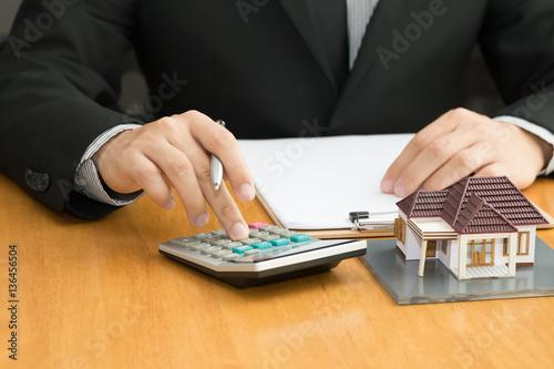 Fototapeta Mortgage home obraz