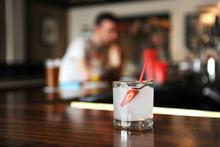 Jalapeno Margarita On A Bar