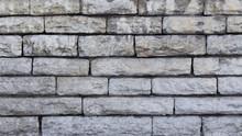 Grey Stone Brick Wall Texture