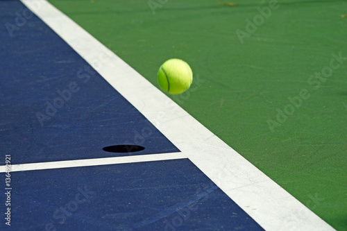 moving tennis ball Poster