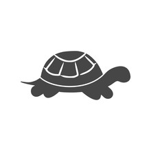 Turtle Icon Flat Graphic Desig...
