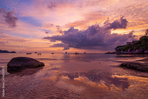 Foto op Plexiglas Crimson Thailand