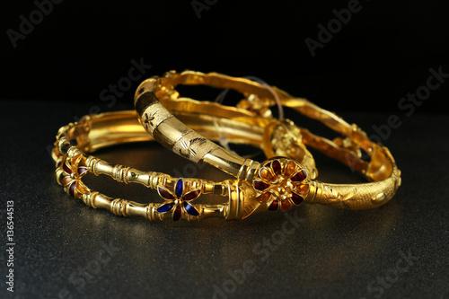 Zdjęcie XXL Złota bransoletka jubilerska