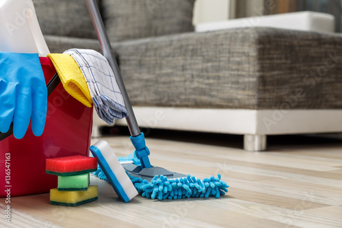 Fotografie, Tablou Cleaning service