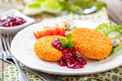 Gebackenes Camembert