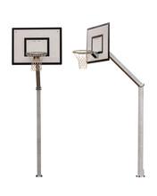 Basketball Backboard Isolated On White Background