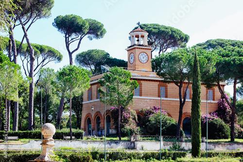 Fotografie, Obraz  Park in Rome, Italy Villa Borghese