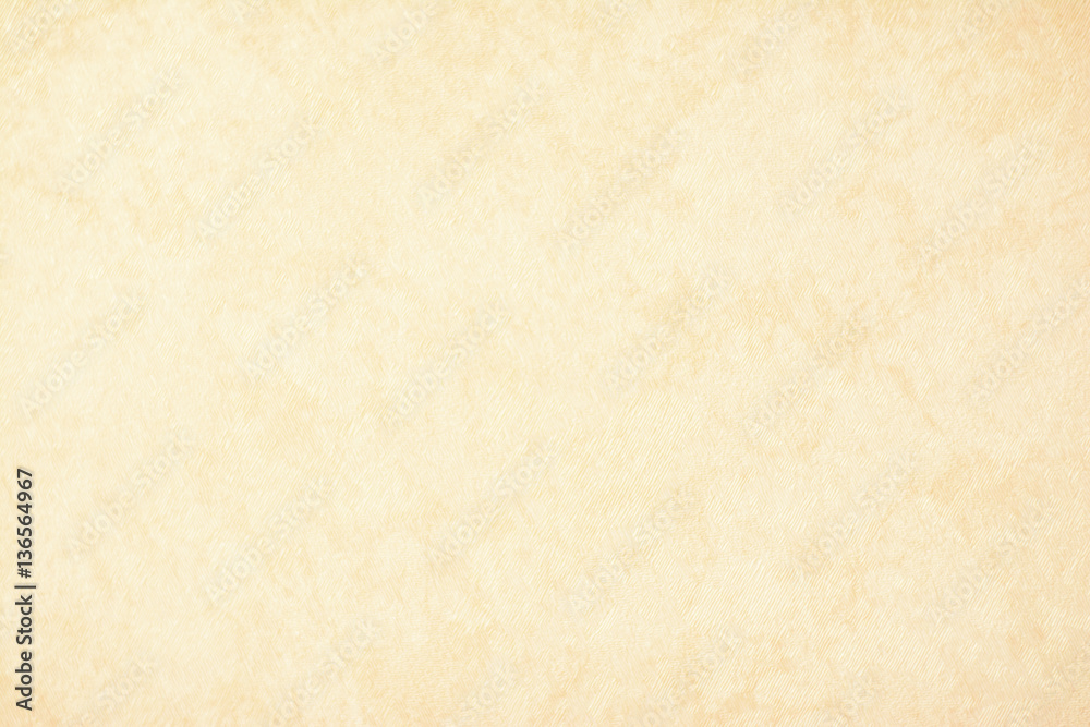 Fototapety, obrazy: gold texture background paper in yellow vintage cream or beige color, parchment paper, abstract pastel gold gradient with brown, solid website background
