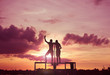 two boys,Friends Friendship Leisure Vacation Togetherness Fun Concept
