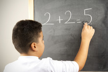 Different Math Formula On The Board