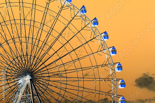 Foto op Canvas Texas ferris wheel in inversion