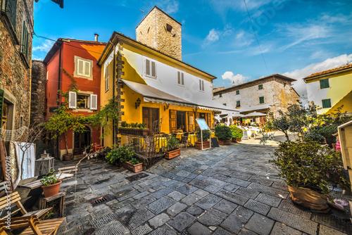 Small square in Montecatini