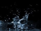 Splash on the water surface