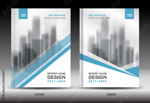 Blue cover design annual report template business brochure flyer blue cover design annual report template business brochure flyer book newsletter spiritdancerdesigns Images