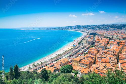 Fotobehang Nice Beautiful Cote d'Azur in France