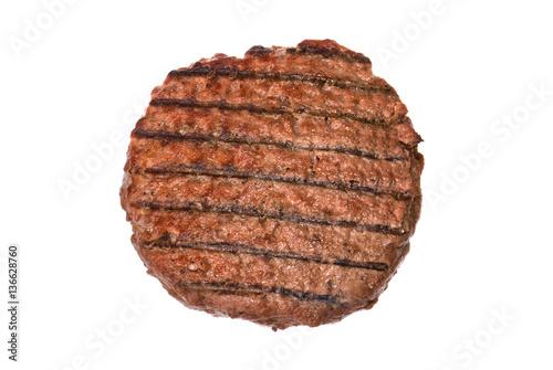 Fotografiet Hamburger patty
