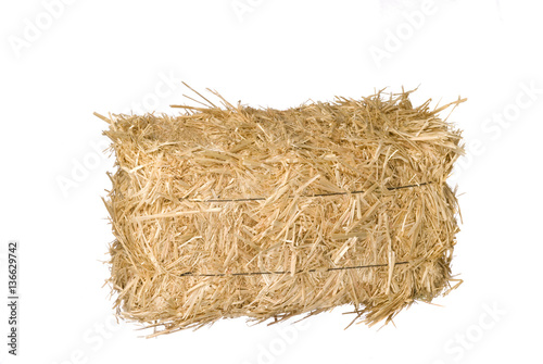 Carta da parati Bale of hay