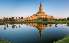 ROI ET THAILAND-NOV 28: Beautiful Pagoda Located In Roi Et This