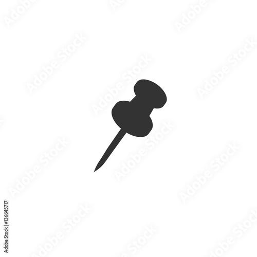 Fotografia, Obraz  pin, icon, vector