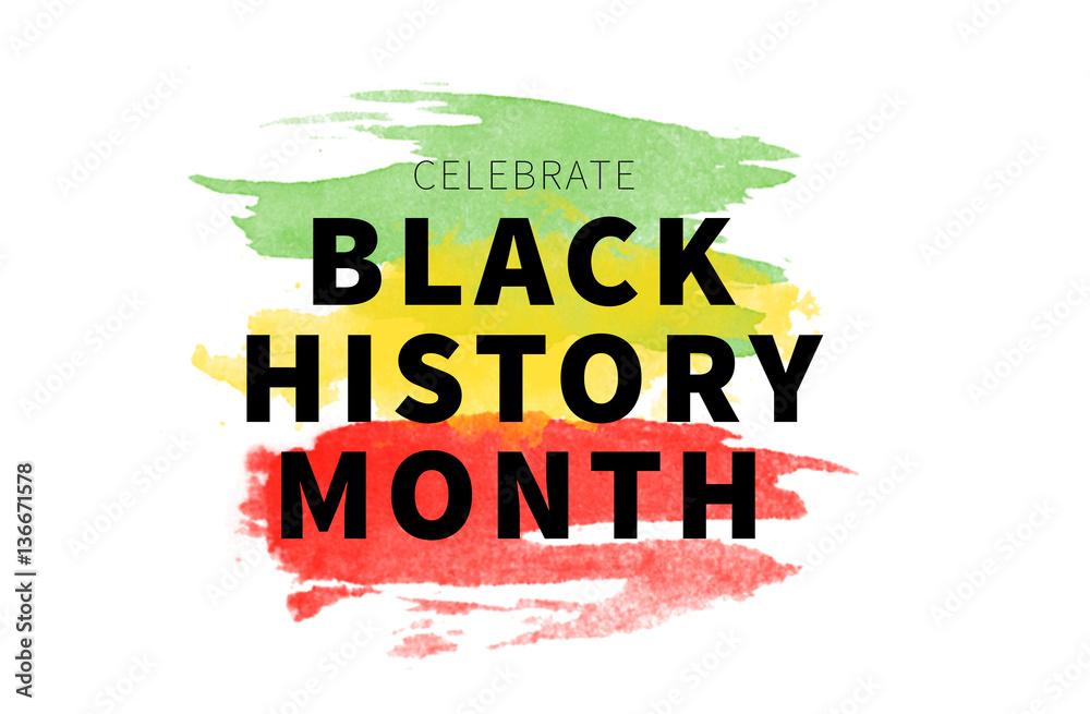 Fototapety, obrazy: Black History Month