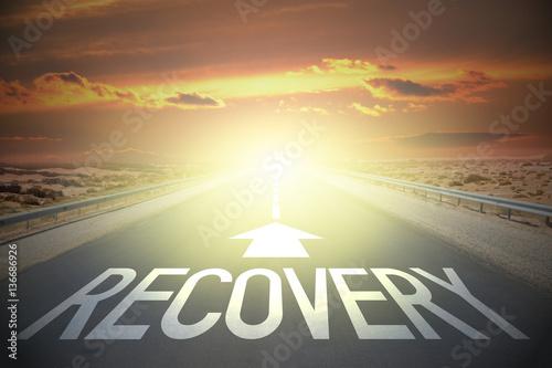 Fotografía Road concept - recovery